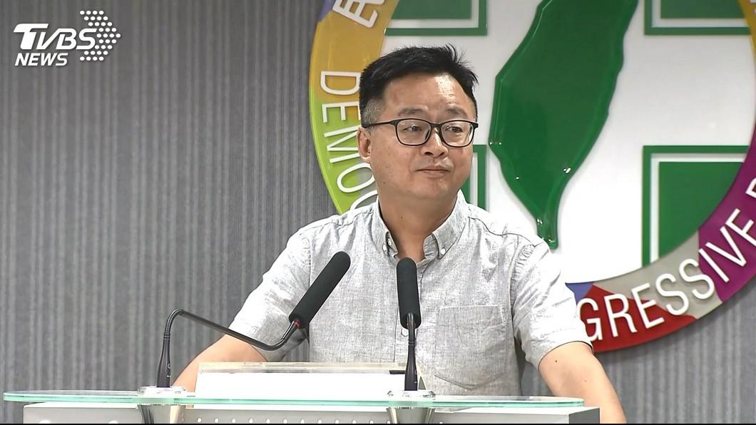 圖/TVBS 傳林飛帆被徵詢任黨副秘書長? 羅文嘉:沒有此事