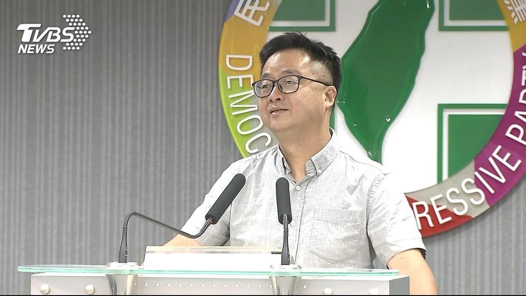 民進黨秘書長羅文嘉。圖/TVBS資料照 綠內戰打3個月繼續打? 羅文嘉:要把台灣交給韓柯郭嗎