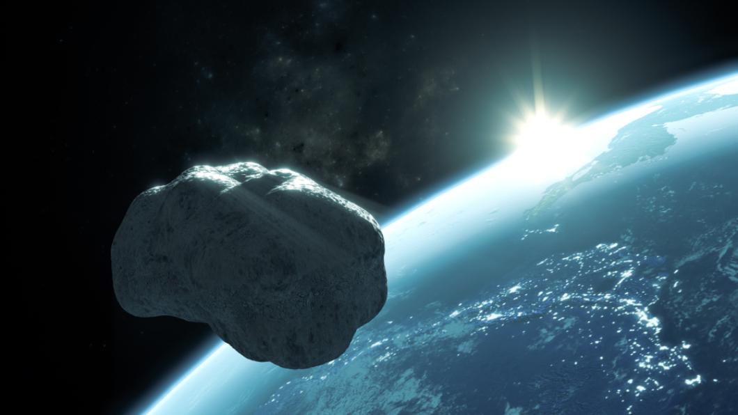 示意圖/TVBS 小行星「死神」奔地球 若撞擊有11萬倍原子彈威力