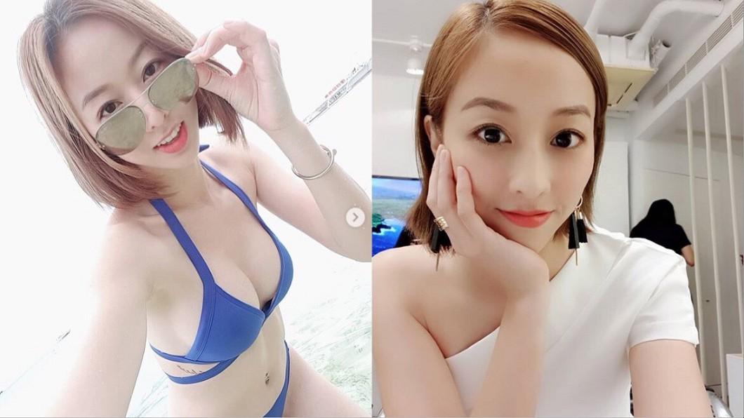 圖/翻攝自夏語心臉書、IG 性愛片外流?夏語心「火辣開腿床照」曝光被瘋傳