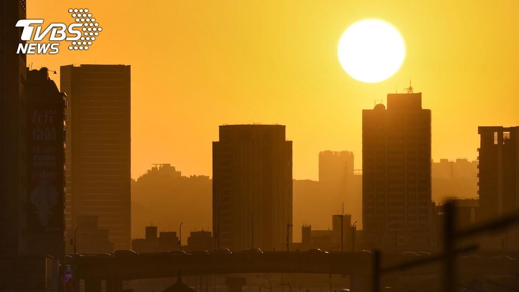 (示意圖/中央社資料照) 台北市懸日美景「此處」能看到 8/7連6天登場