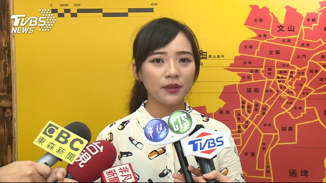 圖/TVBS 黃捷一戰成名 網路聲量超越藍綠
