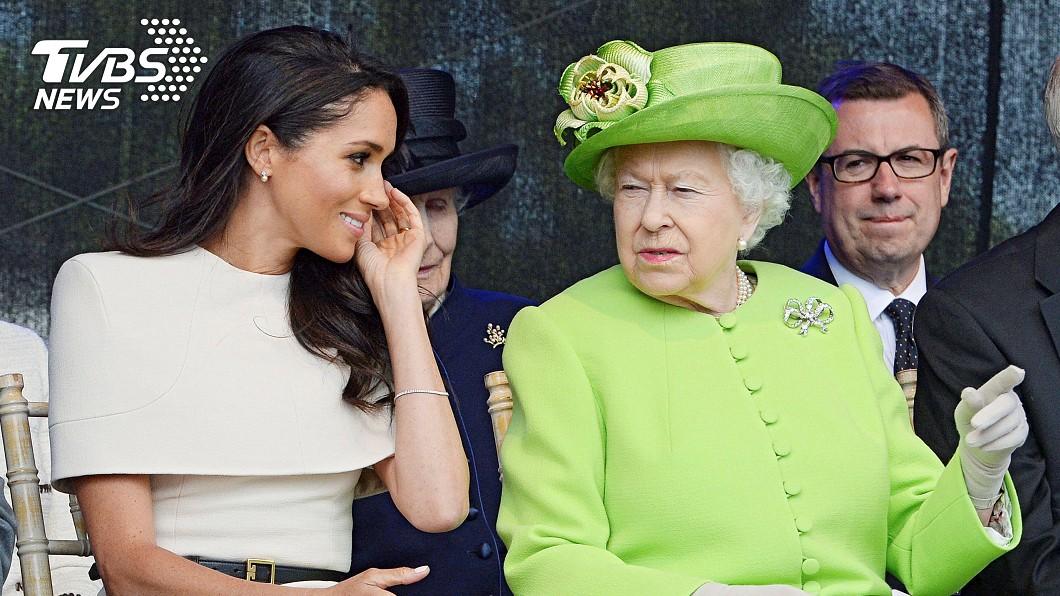 圖/達志影像路透社 不滿婚宴菜吃到蛋 梅根罵侍從女王秒變臉訓斥