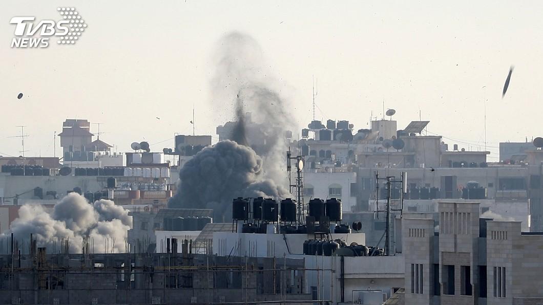 圖/達志影像路透社 以色列發動標靶攻擊 炸死哈瑪斯組織指揮官