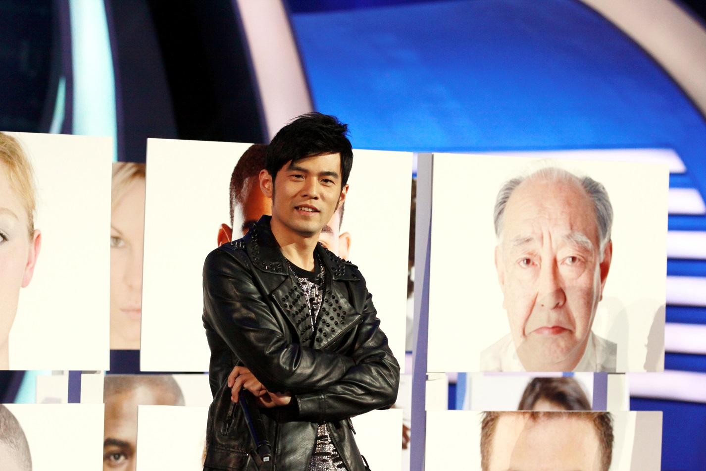 《最強大腦》周杰倫當評審。圖/TVBS