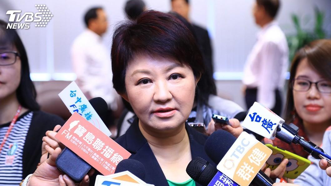 圖/中央社 盧秀燕小內閣人事調整案 藍綠議員都質疑
