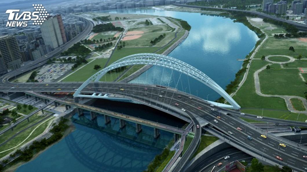 圖/中央社 連接雙北的中正橋改建 延宕多時終開工