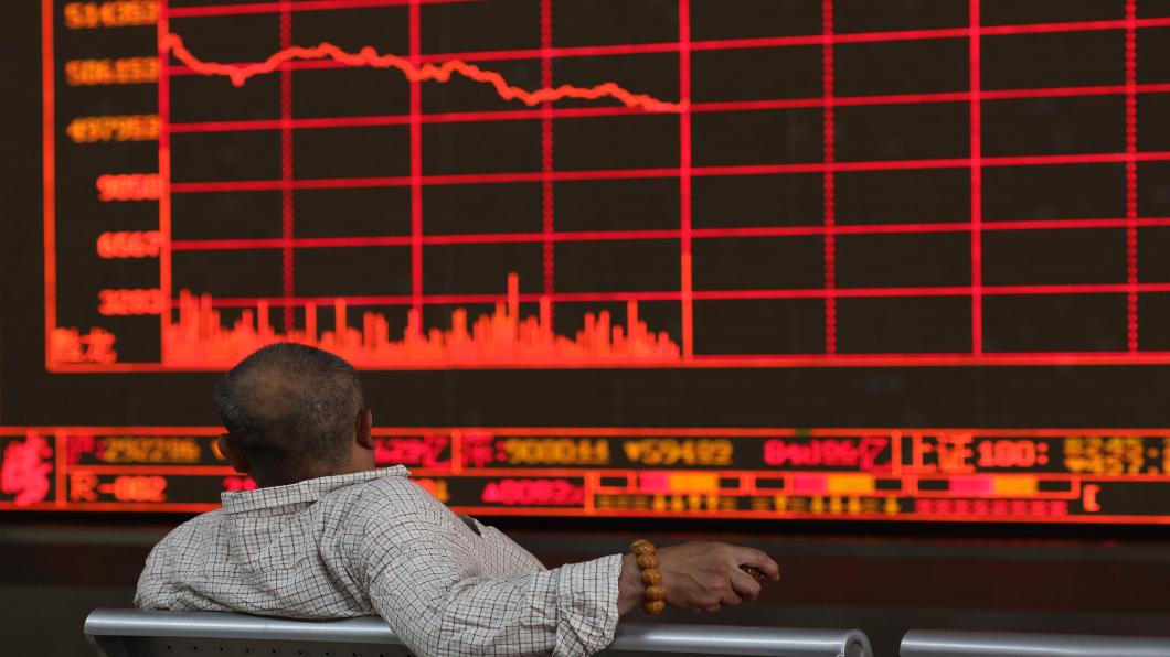 圖/達志影像美聯社 摜壓周一全球股市 川普施壓:開鍘「中國商品」
