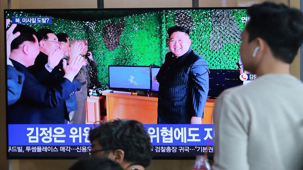 圖/達志影像美聯社 北韓槓美 疑射短程飛彈恐遭加重制裁