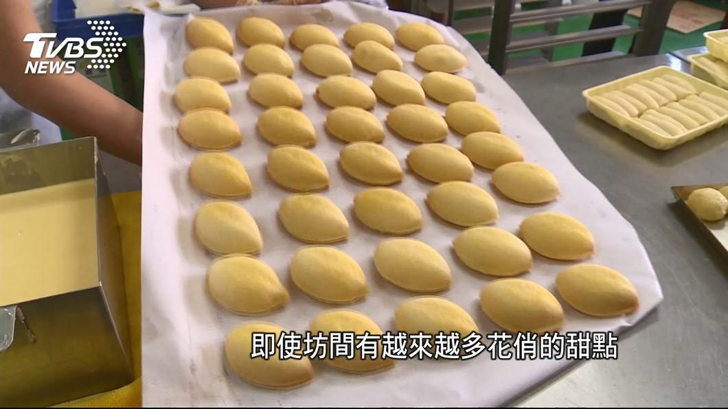 圖/TVBS 懷舊美味! 百年老店首創「檸檬蛋糕」飄香