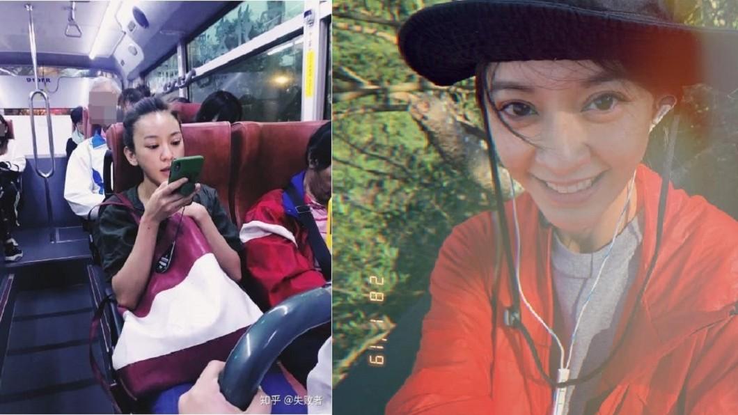 圖/翻攝自微博、陳意涵臉書 搭公車捕獲大咖女神 一個舉動圈粉網友