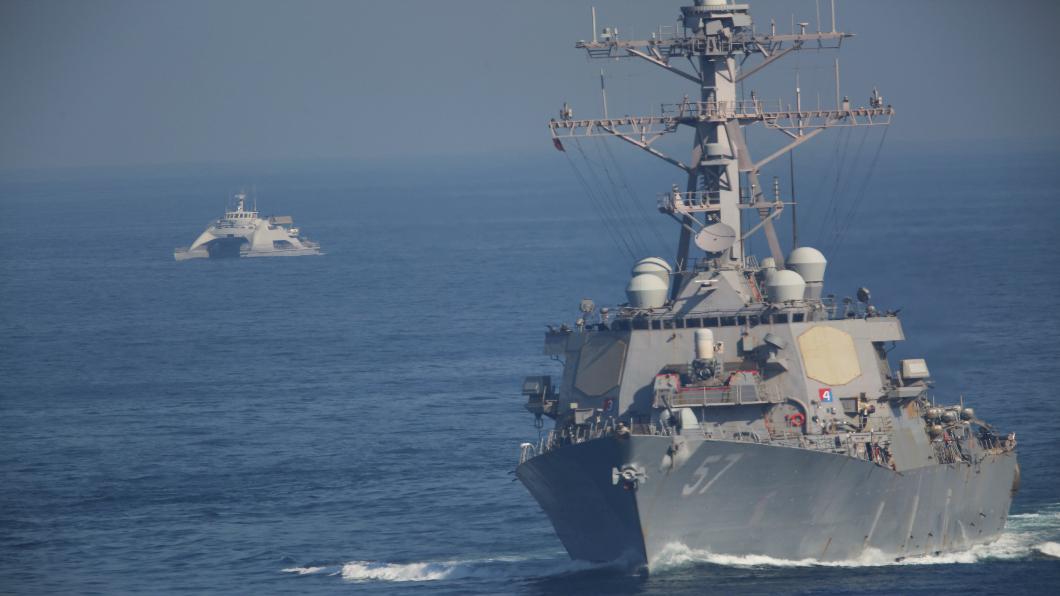 圖/達志影像美聯社 加碼軍事恫嚇!美增航母巡弋中東亞太