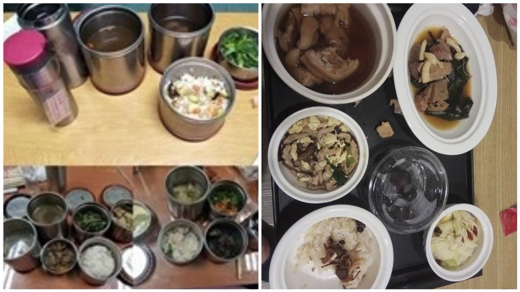 其他網友也紛紛分享自己坐月子時的月子餐。(圖/翻攝自爆怨公社)