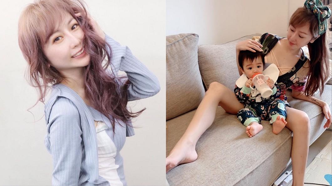 圖/翻攝自T妹臉書 遭轟「露奶養小孩」! 網紅氣炸嗆爆:拜託誰沒奶啊