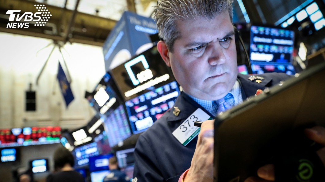 圖/達志影像路透社 美中貿易戰升溫 美股跌473點4個月來最慘