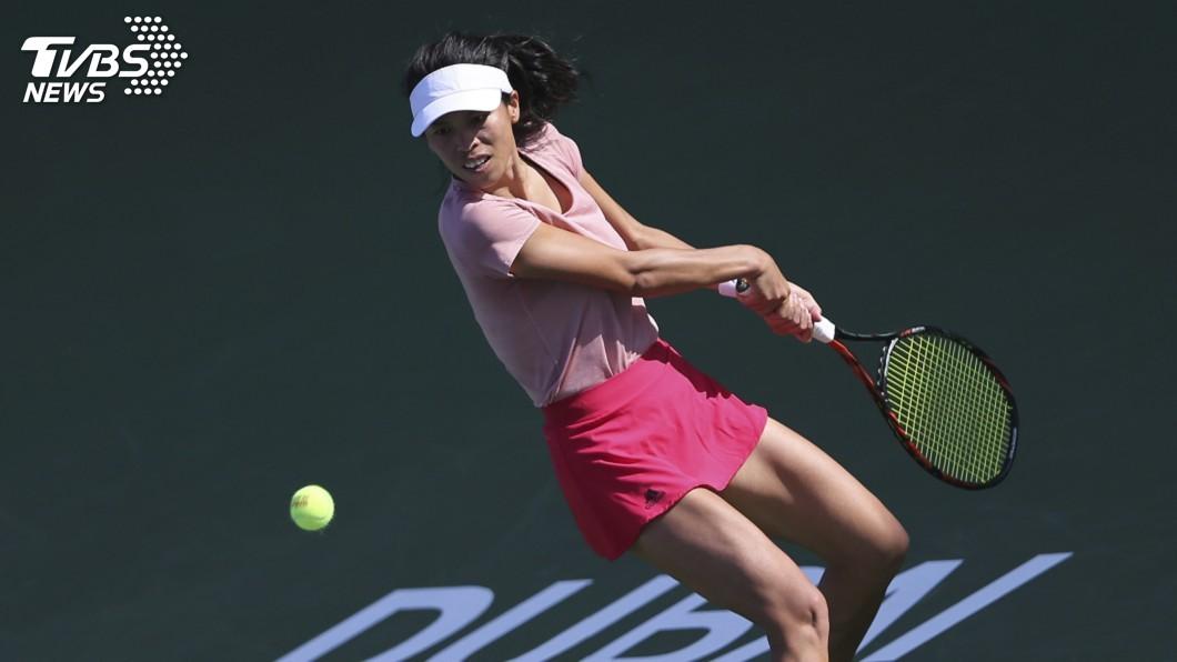 圖/達志影像美聯社 馬德里網球公開賽 謝淑薇女雙晉級8強