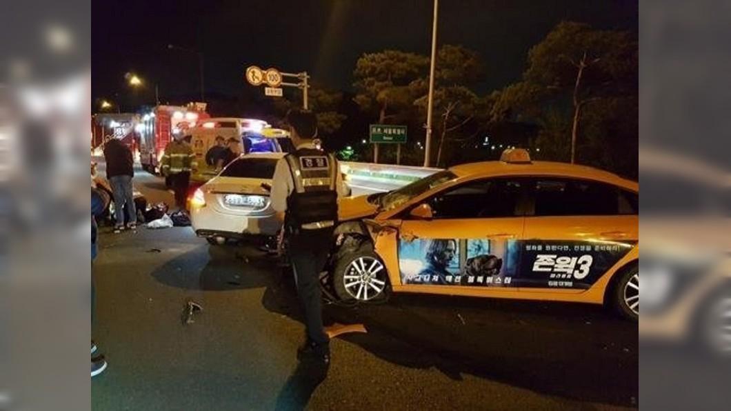 高速公路停車讓老公解放 28歲女星慘被連環撞死│TVBS新聞網