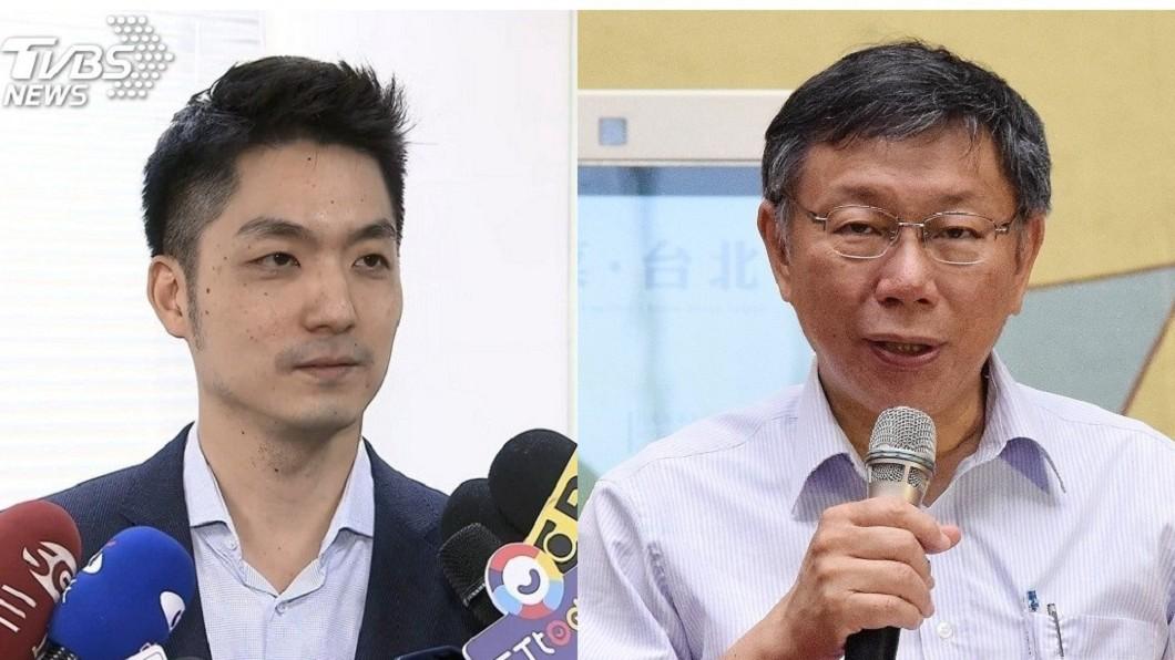 圖/TVBS 蔣萬安臉書被灌爆 柯文哲:看留言笑翻