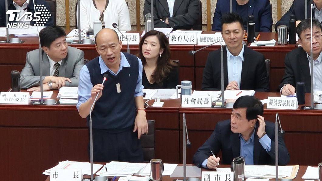 圖/中央社 綠議員看不下去 曝「這點」朱立倫遠勝韓國瑜