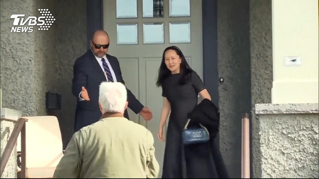 圖/TVBS 華為千金現身出庭 律師控:美加濫權抓人