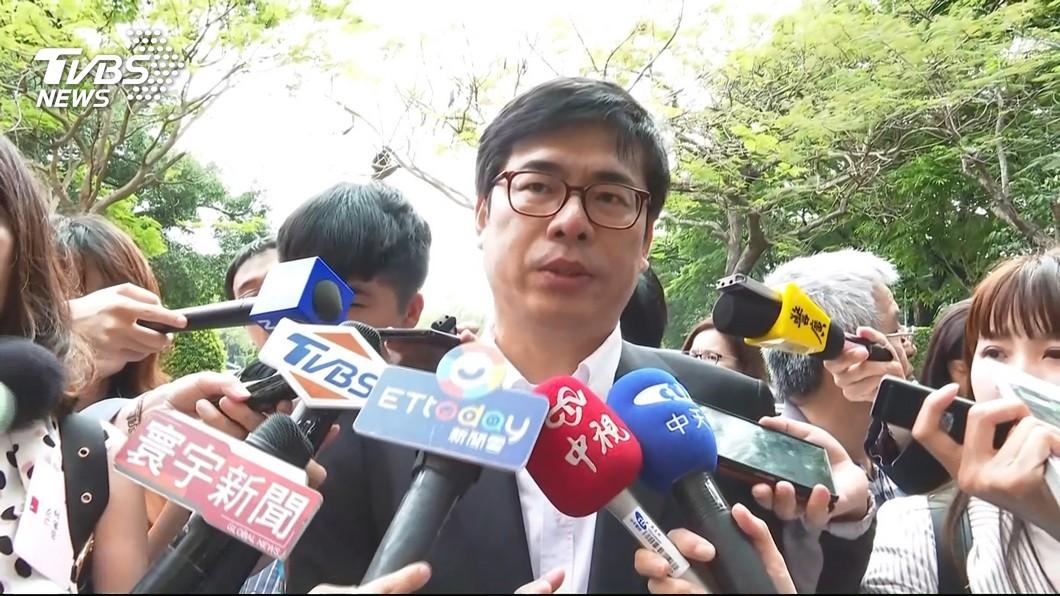 圖/TVBS 韓國瑜對外談市長補選 陳其邁嚇到連問3次:這麼快