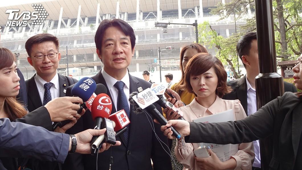 圖/中央社 評日本核食輸台 賴清德:要兼顧安全與國際貿易
