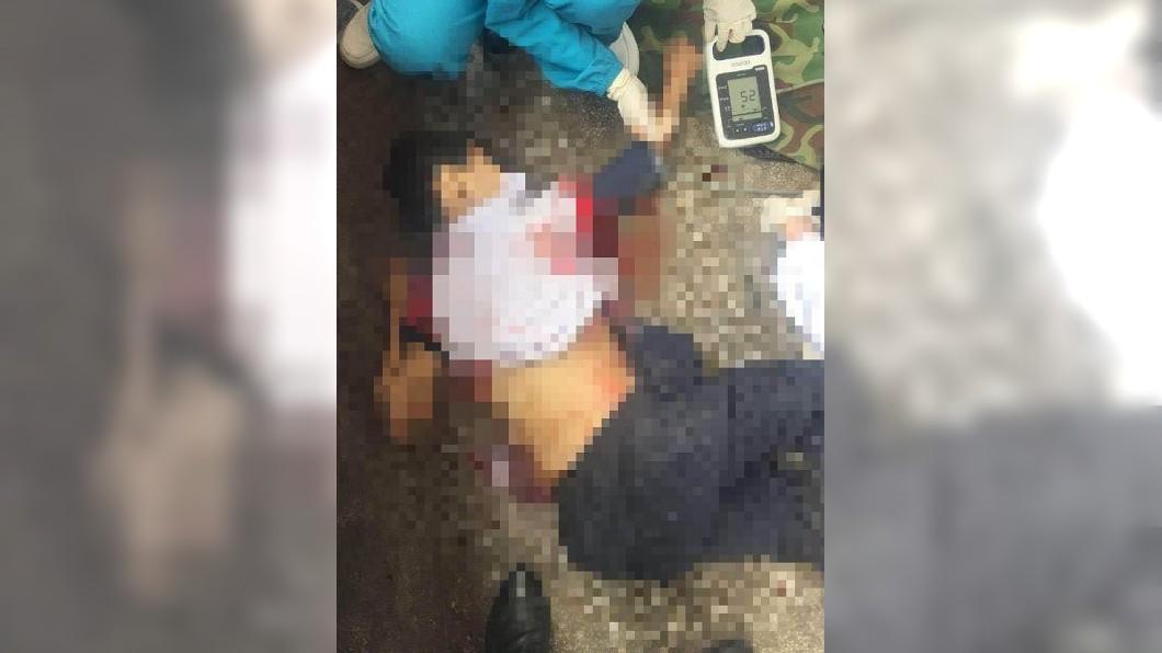 翻攝/杭州網 「天天打她開心嗎?」爸持刀怒衝學校 捅死霸凌男童