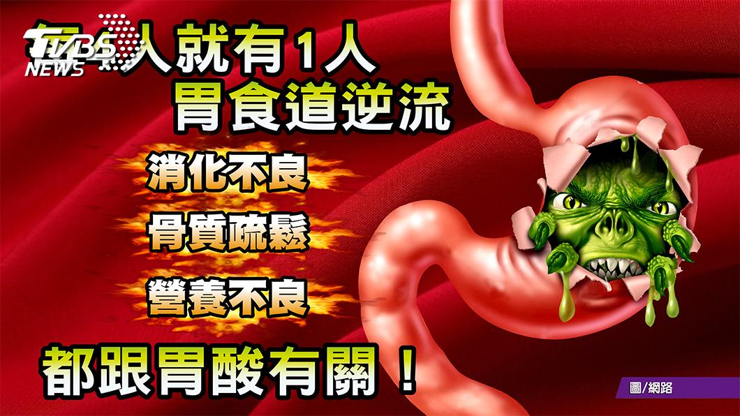 圖/TVBS提供 覺得胸口灼熱? 避免胃食道逆流 這四件事別再做了!