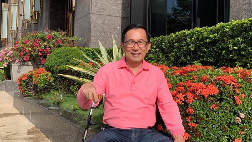 圖/翻攝自陳水扁臉書 沒有319槍擊案 陳水扁說當年「會贏更多」