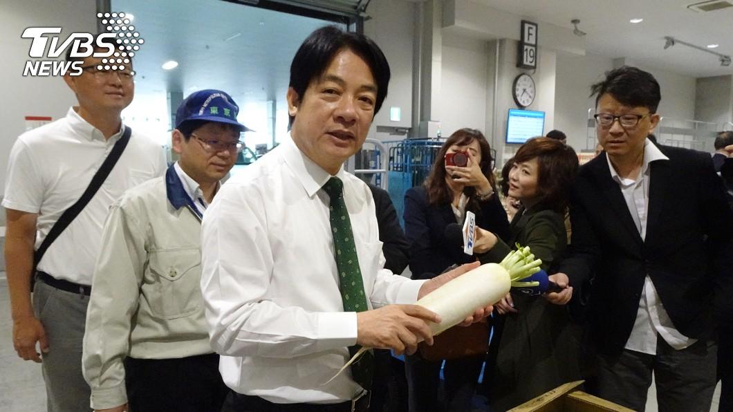 圖/中央社 網傳在日本宣布退出初選 賴清德:絕對錯誤