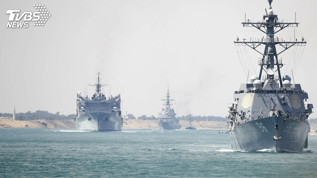 圖/達志影像美聯社 不只航母轟炸機 美軍加派愛國者飛彈制伊朗