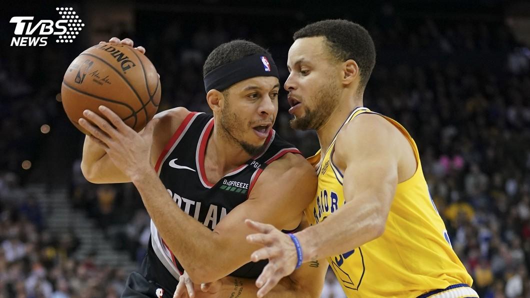 圖/達志影像路透社 NBA史上頭一遭! 柯瑞兄弟西區冠軍賽碰頭