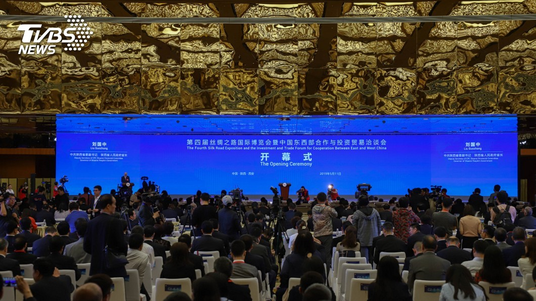 圖/TVBS 陸絲博會西安登場 200家外企參與「科技味濃」
