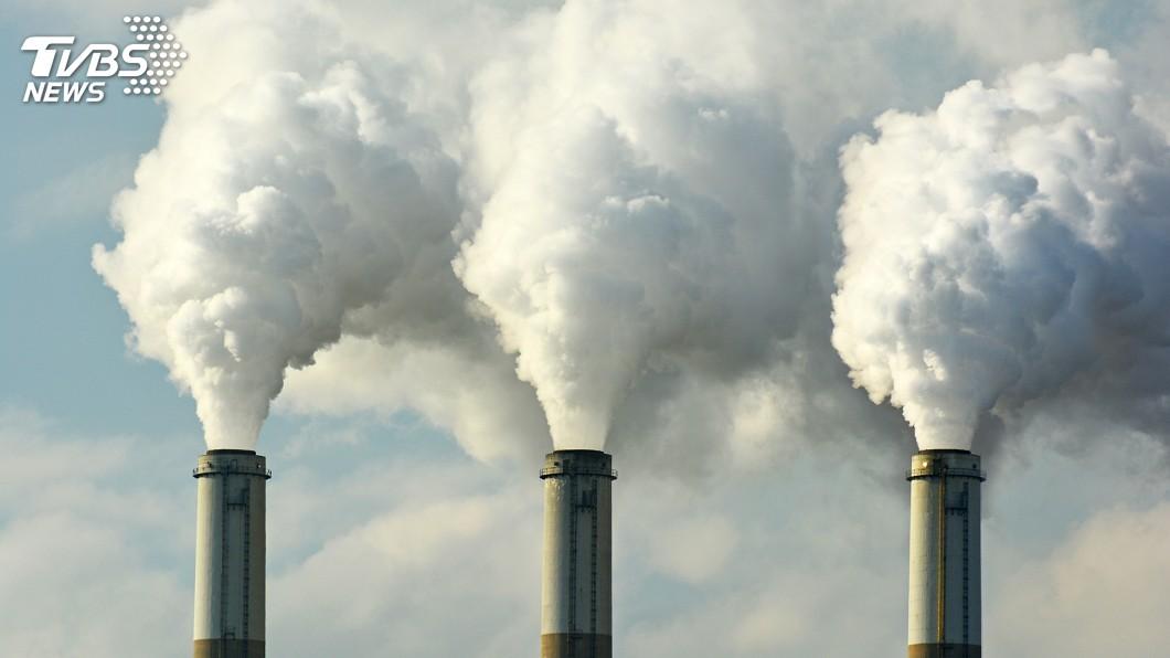 示意圖/TVBS 人類史上首見! 大氣二氧化碳濃度突破415ppm