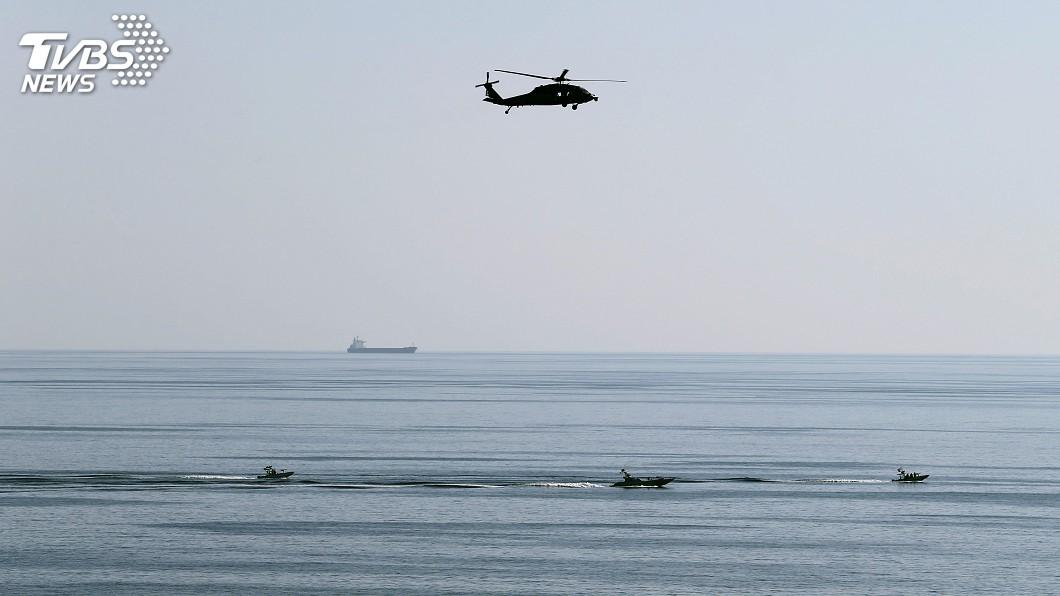 圖/達志影像路透社 波斯灣戰雲密布 荷莫茲海峽瀰漫詭譎氣氛