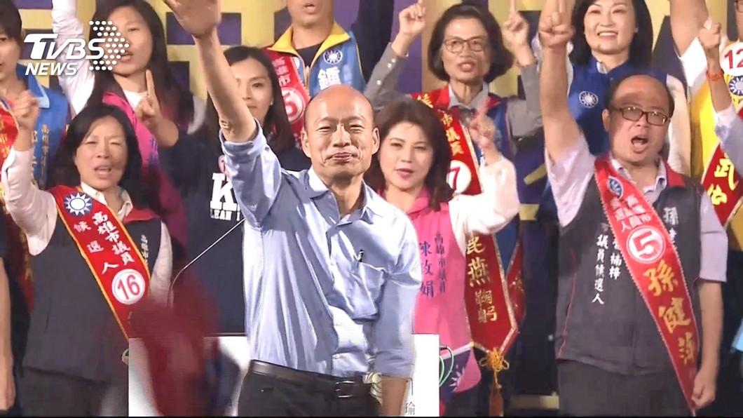 韓國瑜6月1日全國造勢大會,妙天禪師出手籌辦。圖/TVBS 韓國瑜凱道造勢流程曝光 是「他」出手籌辦的