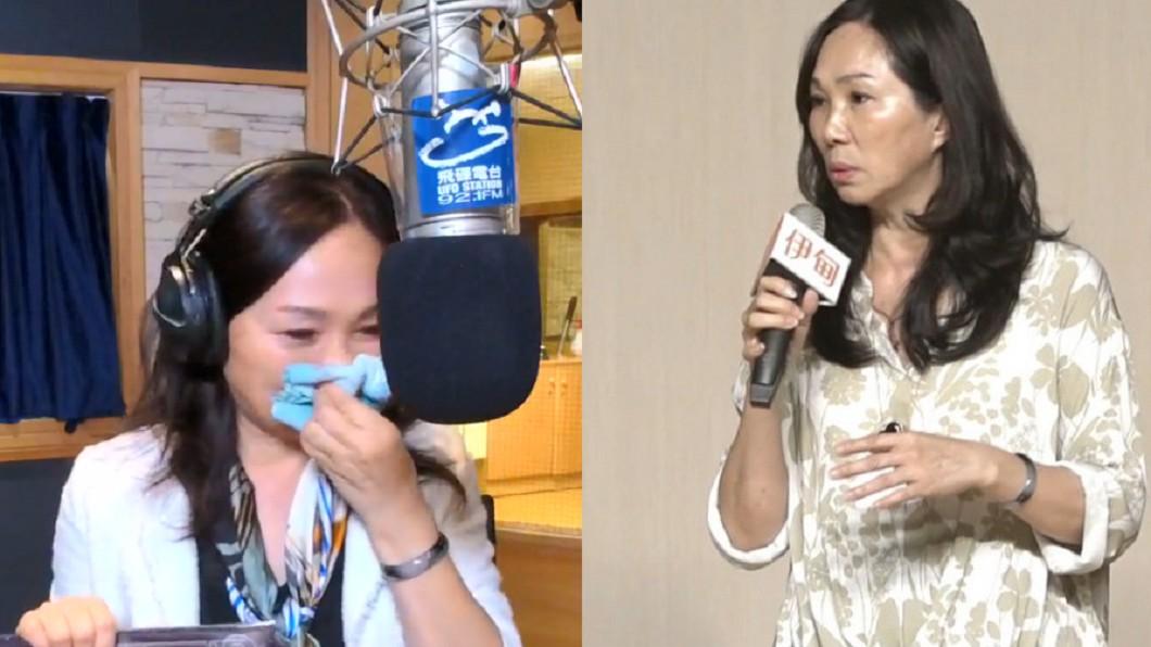 圖/翻攝自飛碟夜光家族粉絲團FB 影片、TVBS 李佳芬聽到這首歌哭了!這原因讓她落淚
