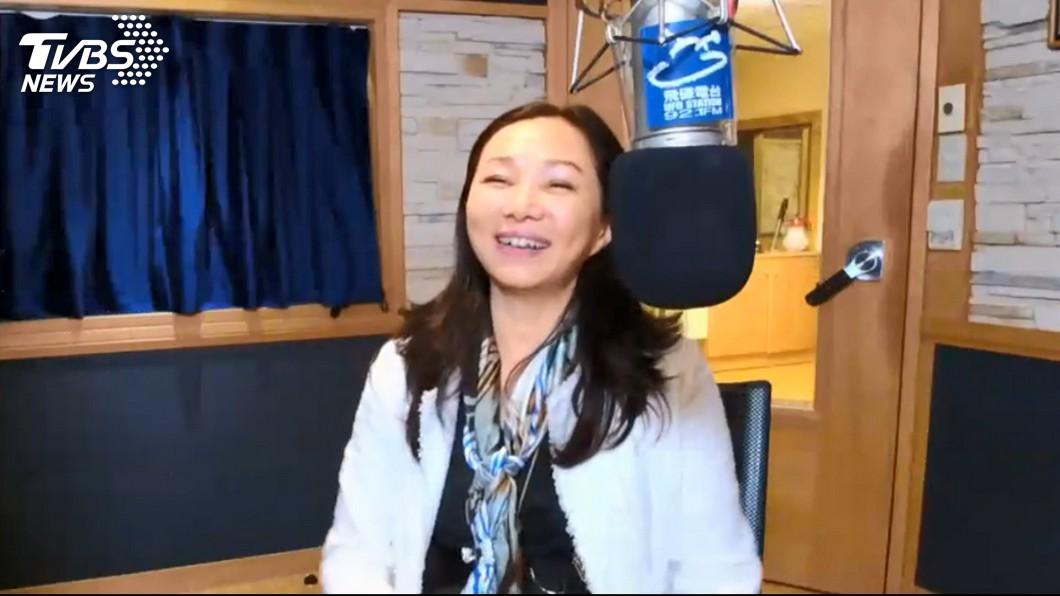 圖/TVBS 聽《心肝寶貝》李佳芬上廣播節目 感性落淚