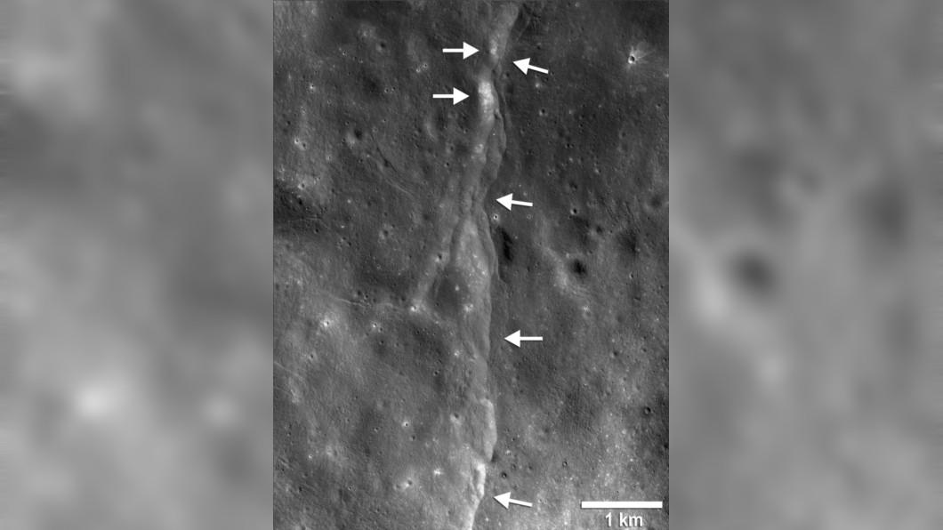 圖/翻攝自NASA官網 月球地震冷卻作用 美研究:月亮正在縮水