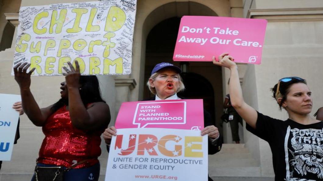 圖/達志影像路透 反墮胎法 美重新緊縮.群星抵制喬治亞州