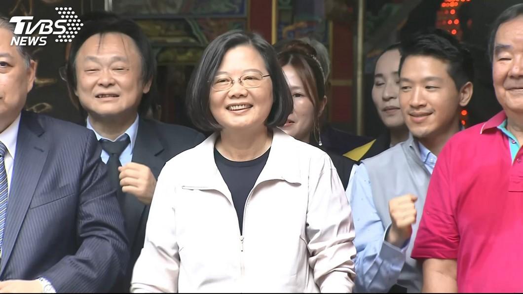 總統蔡英文。圖/TVBS 勞工不能加班「收入減」 蔡英文:是我「心中的痛」
