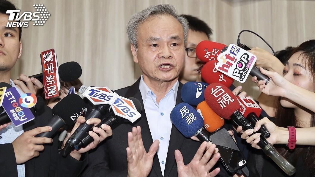 圖/中央社 物流中心案去職 陳憲着:政治可關心但莫超越