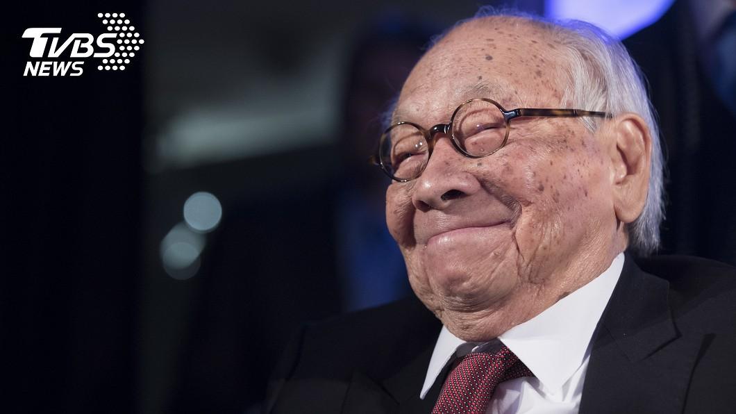 圖/達志影像美聯社 建築大師貝聿銘辭世 享嵩壽102歲