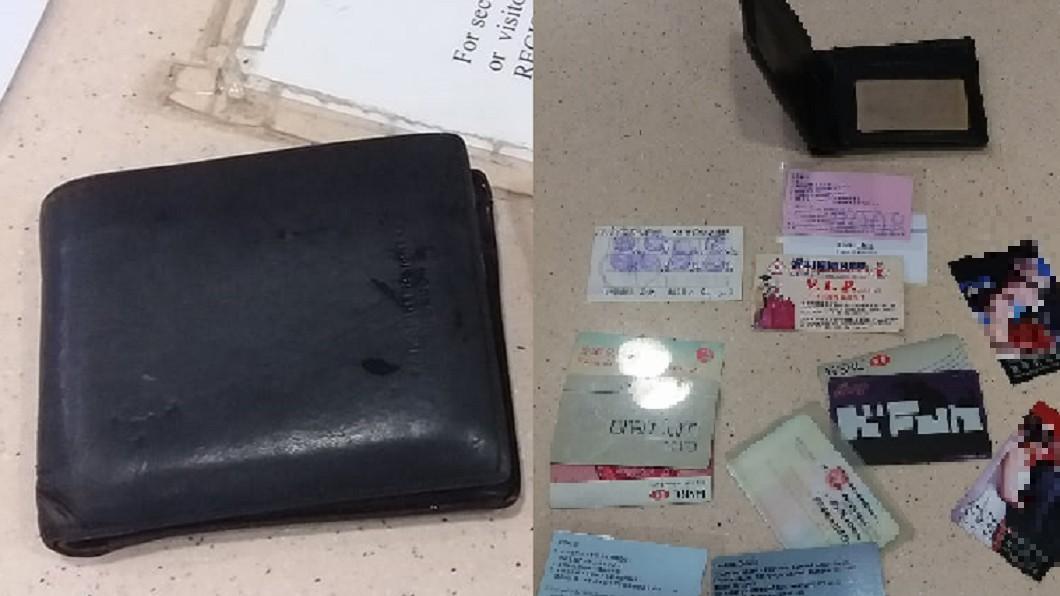 圖/翻攝自 臉書 找回遺失7年的錢包 他打開來一看…卻發覺不對勁