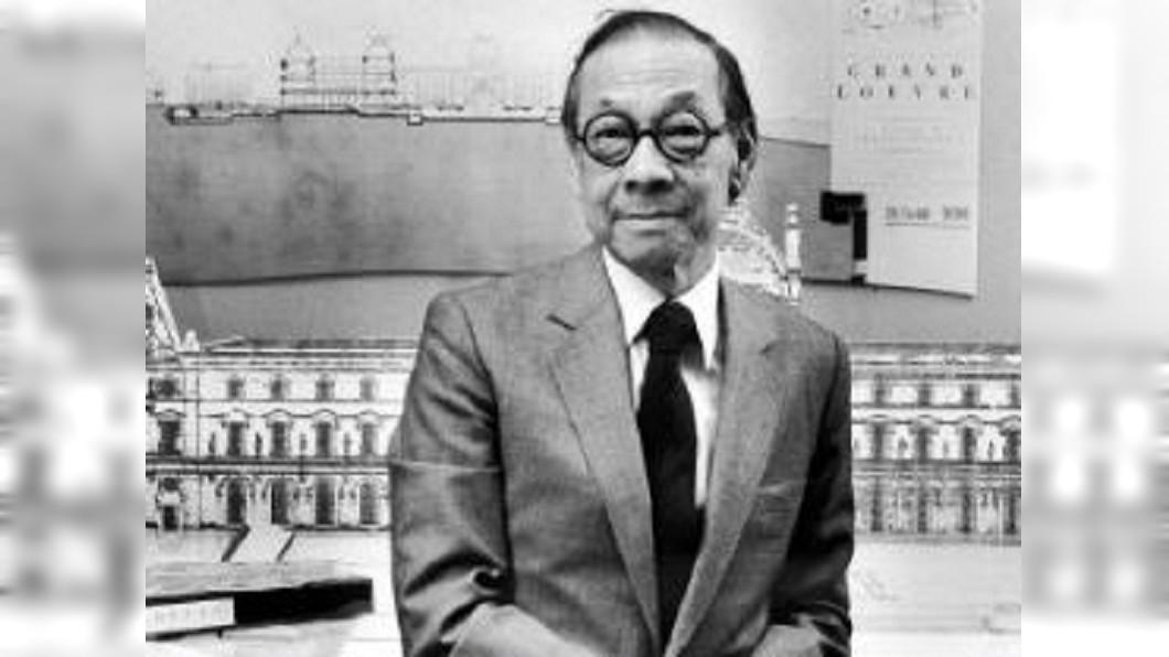 圖/翻攝自央視新聞微博 設計路思義教堂 貝聿銘辭世享壽102歲