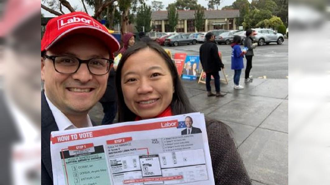 圖/翻攝自Senator Raff Ciccone推特 3年1次澳洲國會大選登場 華裔選民成關鍵少數