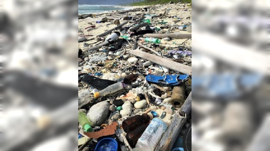 圖/翻攝自Nature Scientific Reports官網 海洋浩劫! 澳科科斯群島發現逾4.14億個塑膠垃圾