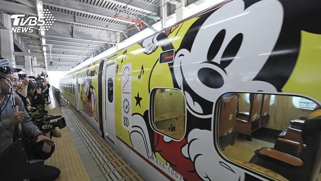 圖/達志影像美聯社 迪士尼迷不能錯過! JR九州復古米奇列車開跑