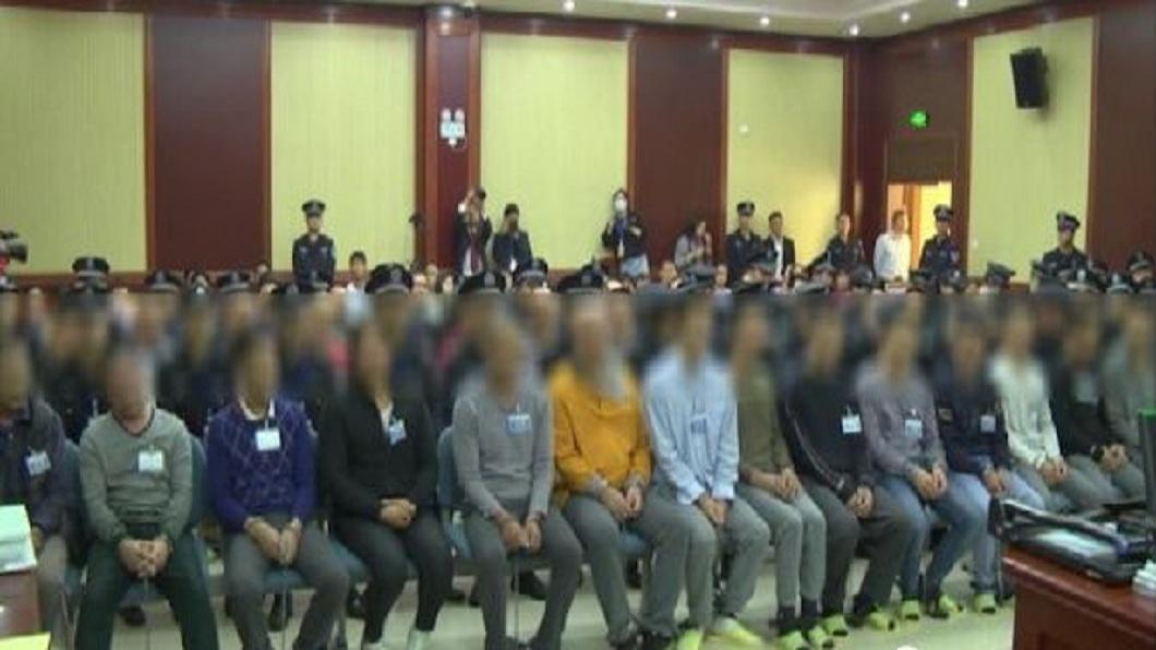 事發後28名涉嫌砍人的犯人主動投案,全案目前正由法院審理中。(圖/翻攝自陸網)