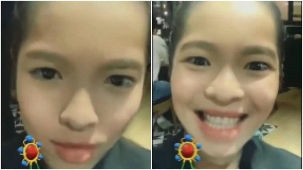 蕭敬騰使用童顏濾鏡,網友笑稱是「Bo妞未來的樣子」。圖/翻攝蕭敬騰 Jam Hsiao臉書